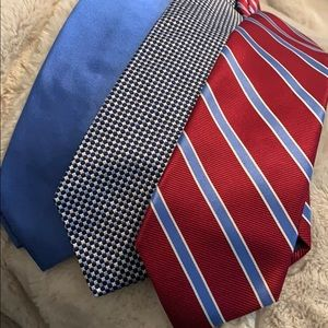 Brooks Brothers Accessories - Brooks Brothers NWT tie bundle set of 3